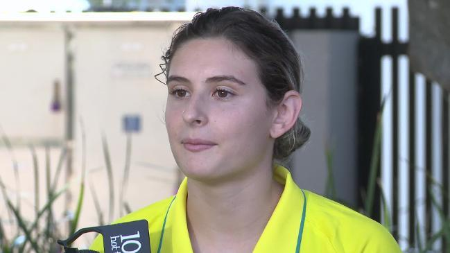 Diver Keeney no longer as nervous and jittery