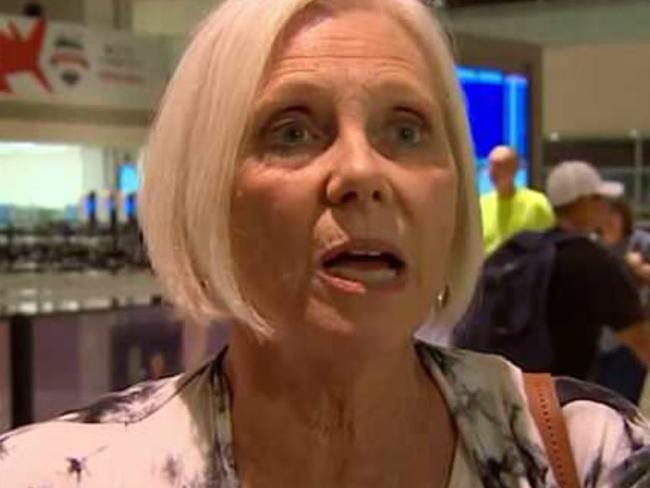Peggy Phillips tried to save Jennifer Riordan on the Southwest Airlines flight. Picture: ABC