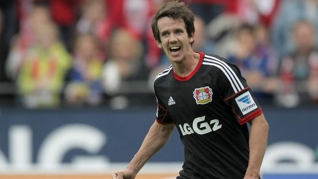 Robbie Kruse spent a lot of time of the bench at Leverkusen.