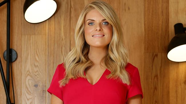 Erin Molan was rushed to hospital this week. Picture: Jonathan Ng