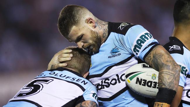Josh Dugan looks dejected. Picture. Phil Hillyard