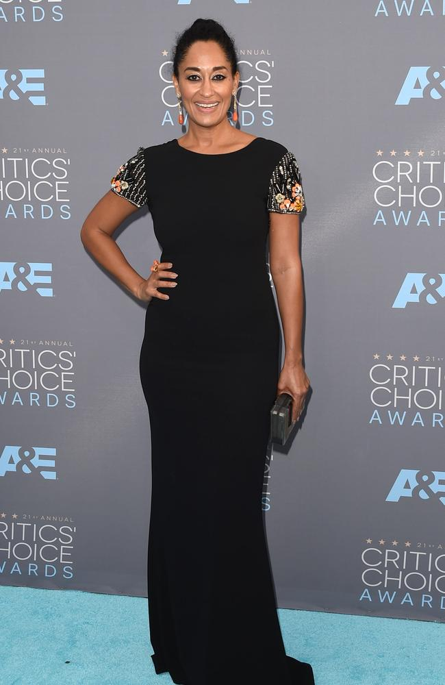 Tracee Ellis Ross attends the 21st Annual Critics' Choice Awards on January 17, 2016 in California. Picture: Getty
