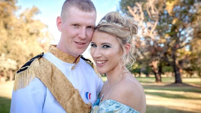 NSW's very own Cinderella married her Prince Charming.