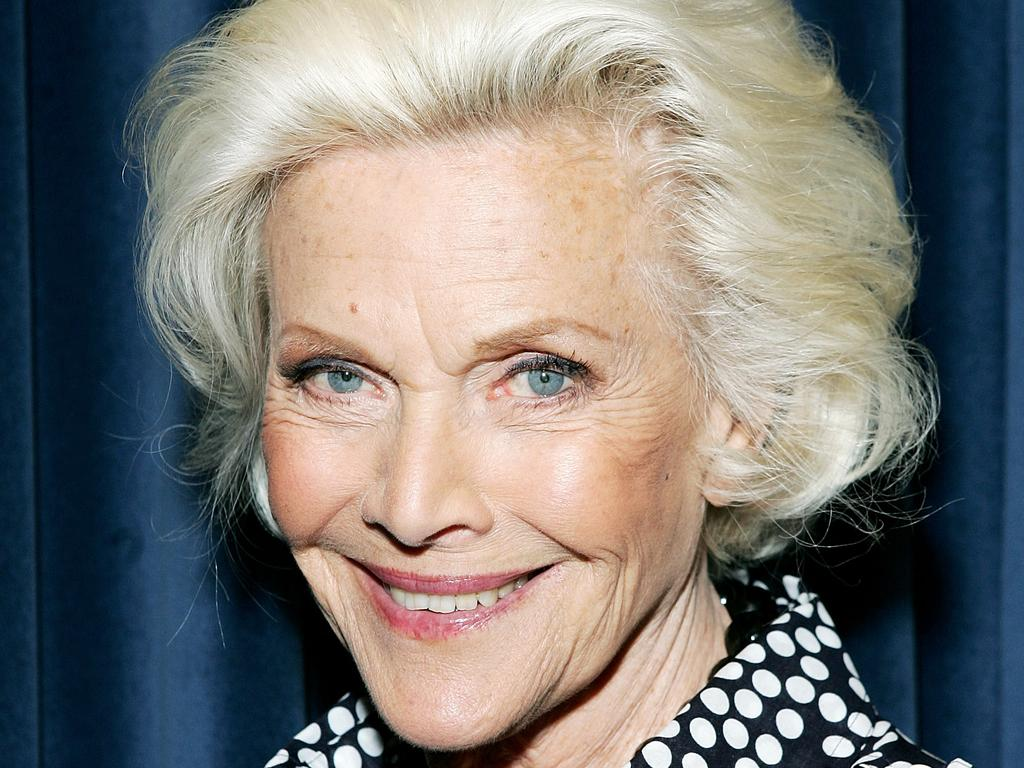 Honor Blackman in 2008. Picture: Getty Images