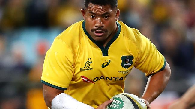 Tatafu Polota-Nau is confident the Wallabies can improve their performance. Picture Getty Images