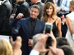 Sylvester Stallone and Jennifer Flavin attend the 88th Annual Academy Awards on February 28, 2016 in Hollywood, California. Picture: AP