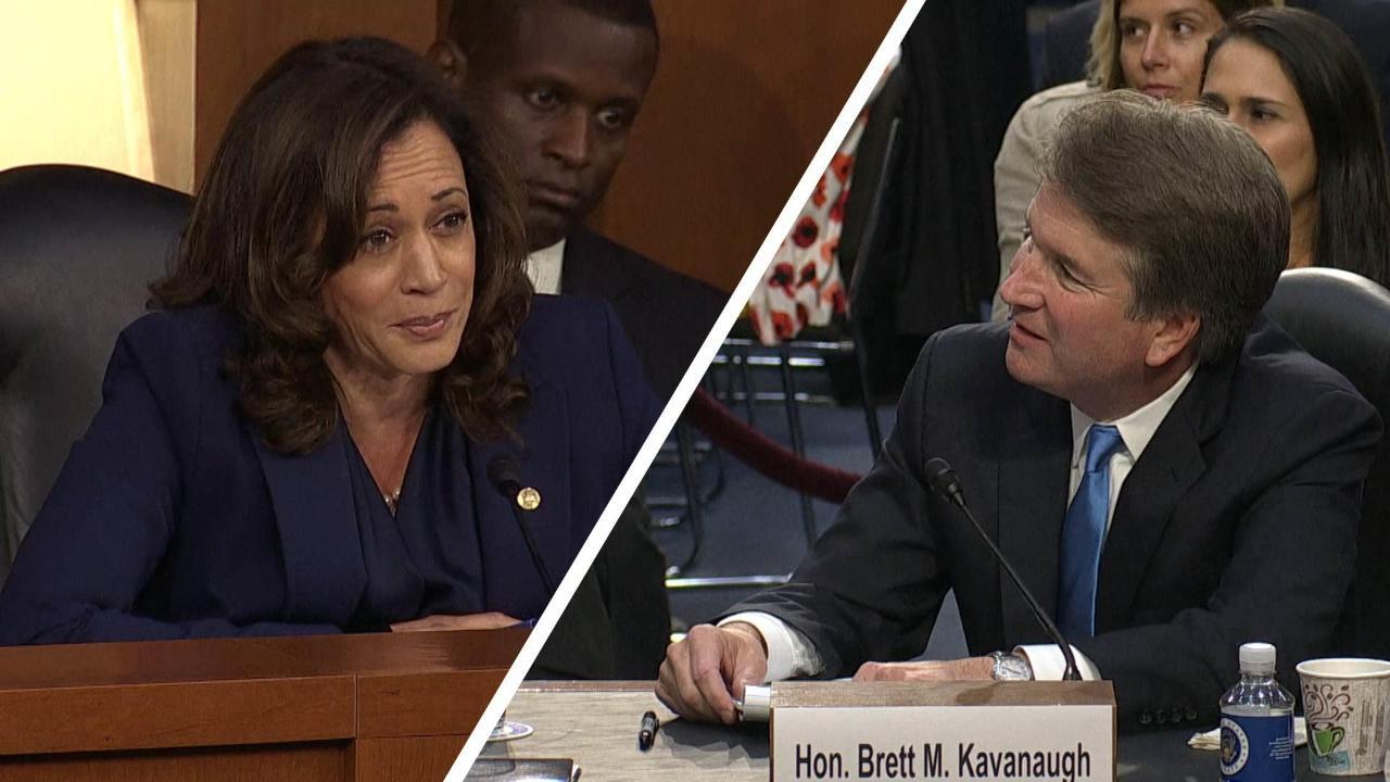 Harris Grills Kavanaugh About Russia Investigation Conversations