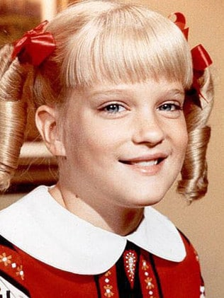 Susan Olsen as Cindy Brady. Picture: Supplied