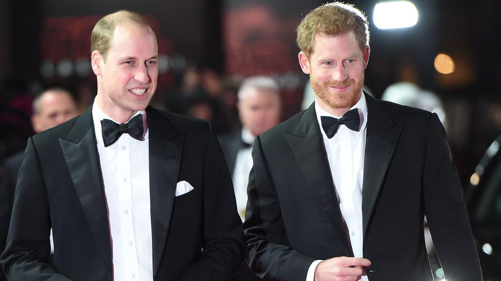William and Harry commissioned the Princess Diana statue in 2017. Picture: AFP.