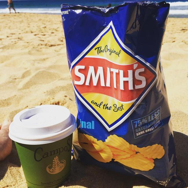 Have a packet with a coffee, a beer, or on its own. Picture: @toorudenotto
