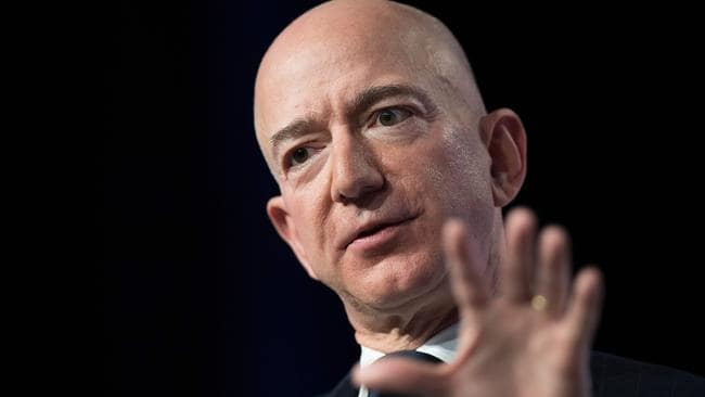 Amazon and Blue Origin founder Jeff Bezos' advice has paid off. Picture: Jim Watson/AFP