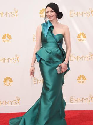 Laura Prepon attends the 66th Annual Primetime Emmy Awards.