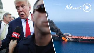US and Iran clash over oil tanker attacks