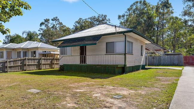 This two-bedroom house at 21 Sinclair St, Ellen Grove, recently sold for just $222,000.