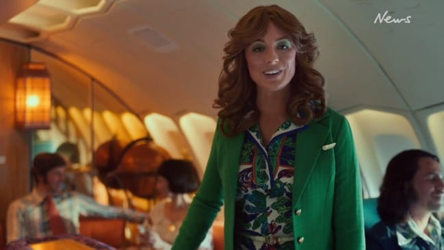 Qantas releases new in-flight safety video