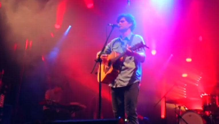 On the road with Vance Joy