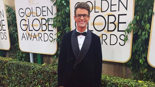 Fashion reporter ... stylist Brad Goreski will bring highlights from the red carpet to viewers of hit reality show Fashion Police. Picture: Instagram