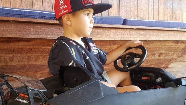 Antonio Ornelas, 4, has caught the attention of car enthusiast's around the world with his impressive drifting skills.