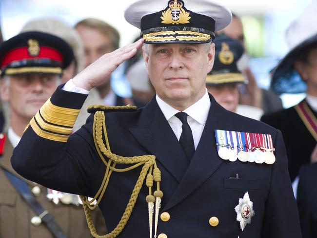 Prince Andrew, Duke of York has stepped back from official duties in what is thought to be a first for the royal family. Picture: Justin TALLIS / AFP.