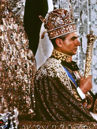 The Shah of Iran at his coronation in 1967. Picture: AFP