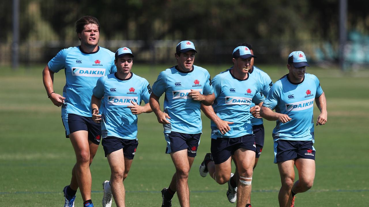Le Roux Roets was signed for the Waratahs despite not being seen in the flesh.
