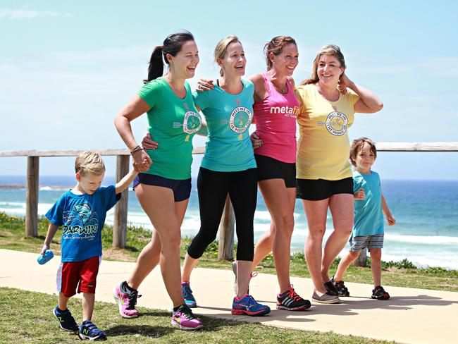 Walking for fitness is a great way to lose weight — and you can bring your kids along too. Picture: Adam Yip/The Manly Daily