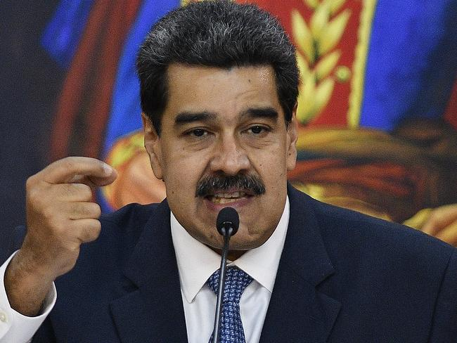 UN human rights chief Michele Bachelet has asked President Nicolas Maduro to release the 22 prisoners separately to her report on the brutal death squads operating in the country. Picture: Matias Delacroix/Getty Images