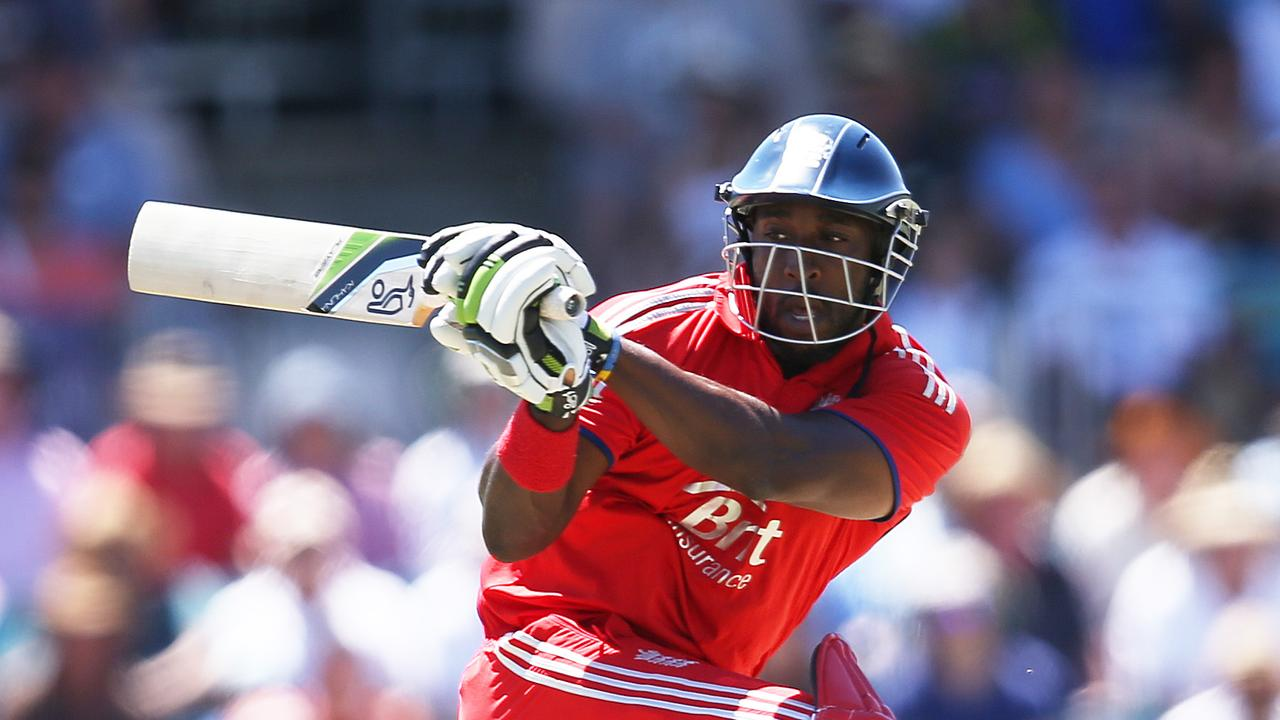 Michael Carberry ran the drinks in all five ODIs against Australia in 2014.