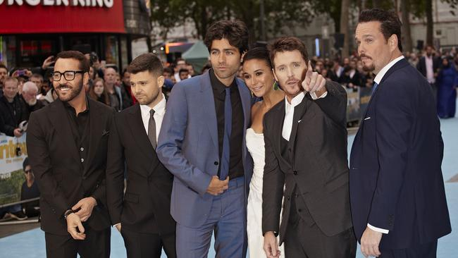 Doesn't look like there's a lot of love with this Entourage castmates, does there?