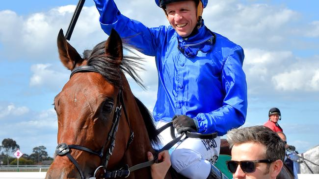 Kerrin McEvoy was impressed by Qewy's fighting finish. Picture: Jay Town