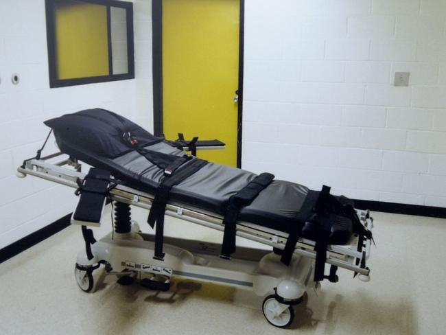 The Federal Bureau of Prisons will adopt a new protocol for execution by lethal injection, as 14 states already do, to clear the way to carry out death sentences. Picture: AFP