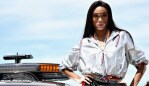 MONTREAL, QC - JUNE 10: Supermodel Winnie Harlow poses for a photo on the grid before the Canadian Formula One Grand Prix at Circuit Gilles Villeneuve on June 10, 2018 in Montreal, Canada. (Photo by Mark Thompson/Getty Images)
