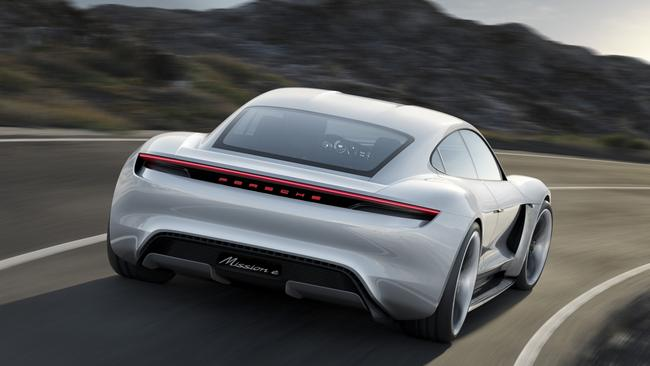 The Porsche Taycan will be the brand's first electric car.
