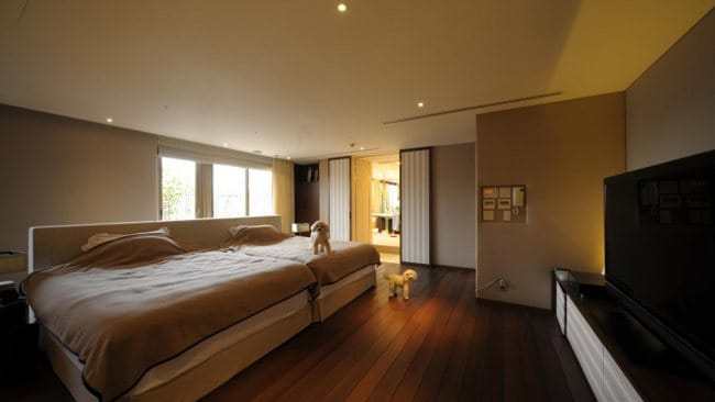 World's most expensive one-bedroom apartment, Tokyo, Japan. Picture: Courtesy of Sotheby's Japan