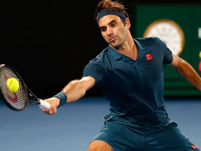 Roger Federer is heading back to his least preferred surface.