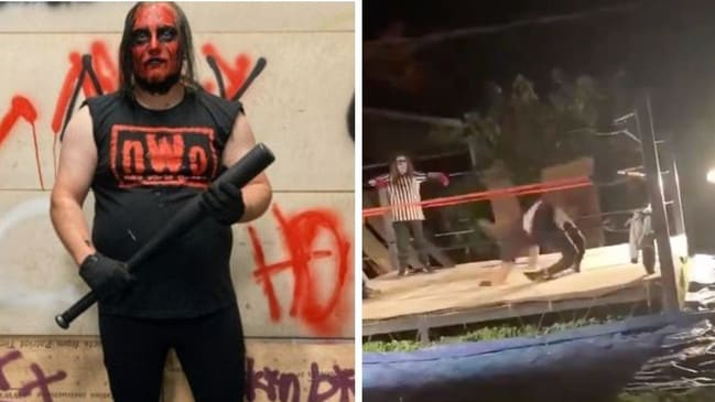 Wrestler may need leg amputated after horror double break in stunt gone wrong