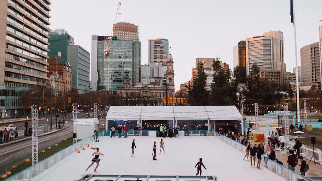 Skating At Festival returns to Victoria Sq. Picture: Supplied WordStorm PR/Grace Lee