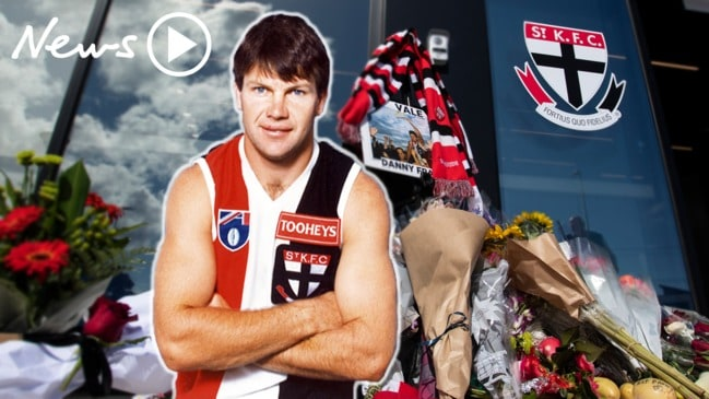 Danny 'Spud' Frawley: AFL community mourns the loss of St Kilda legend