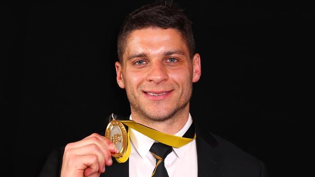 Dion Prestia was the Jack Dyer medallist for premier Richmond.