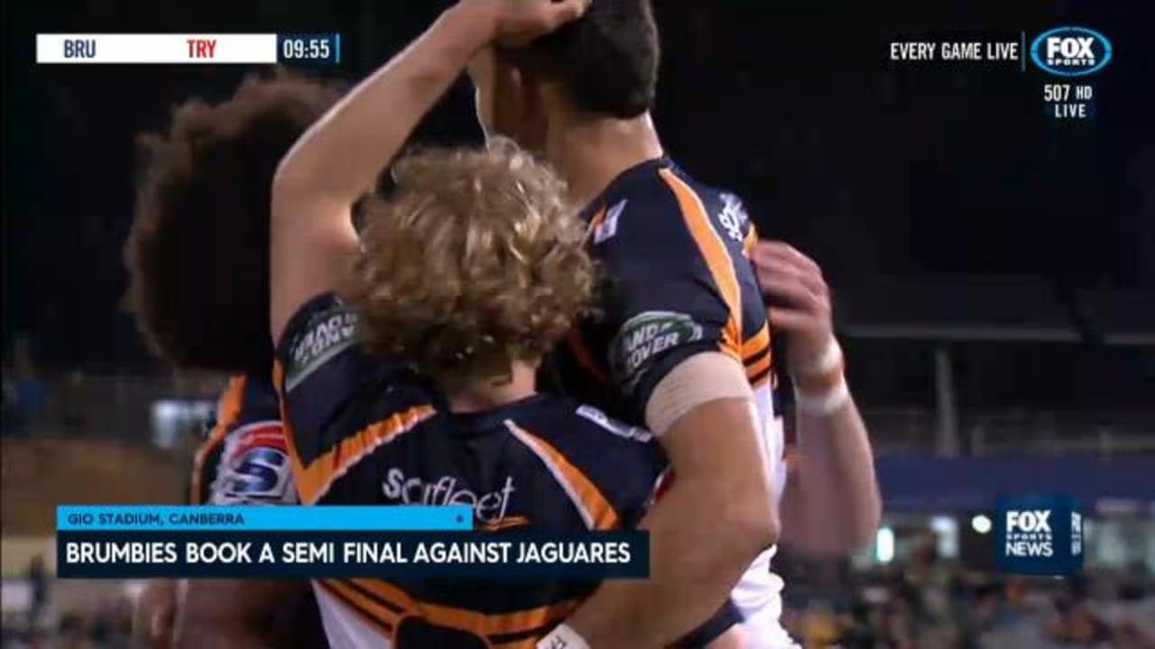Brumbies blast Sharks