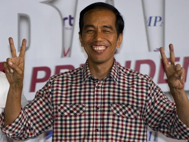 Questions over policies ... Indonesian presidential candidate Joko Widodo. Picture: Romeo Gacad