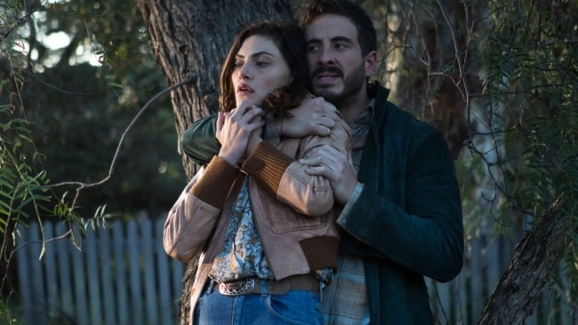 Phoebe Tonkin and Ryan Corr in 'Bloom'. Photo: Stan