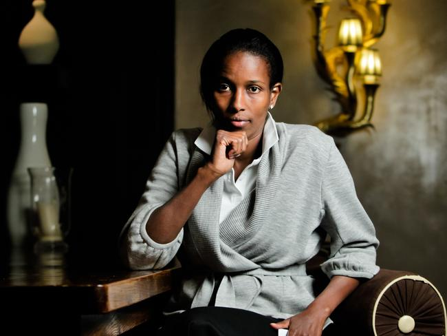 'Snapped out of it' ... author Ayaan Hirsi Ali's suggested amendments to Islam are shocking to the faithful. Picture: Amos Aikman