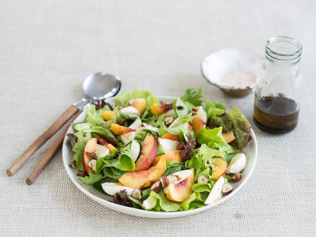 Nectarine salad.