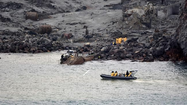 White Island was a popular tourist attraction in the Bay of Plenty. Picture: AFP/NEW ZEALAND DEFENCE FORCE