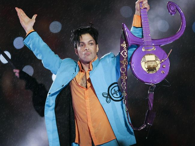 Prince was found dead at his home on April 21, 2016, in suburban Minneapolis. He was 57. Picture: AP/Chris O'Meara