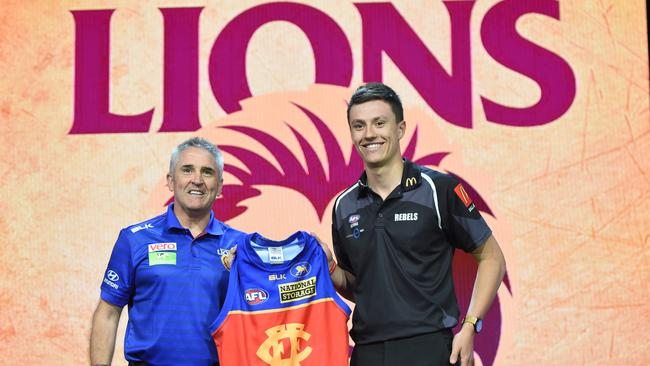McCluggage fell through to the Lions with Pick 3.