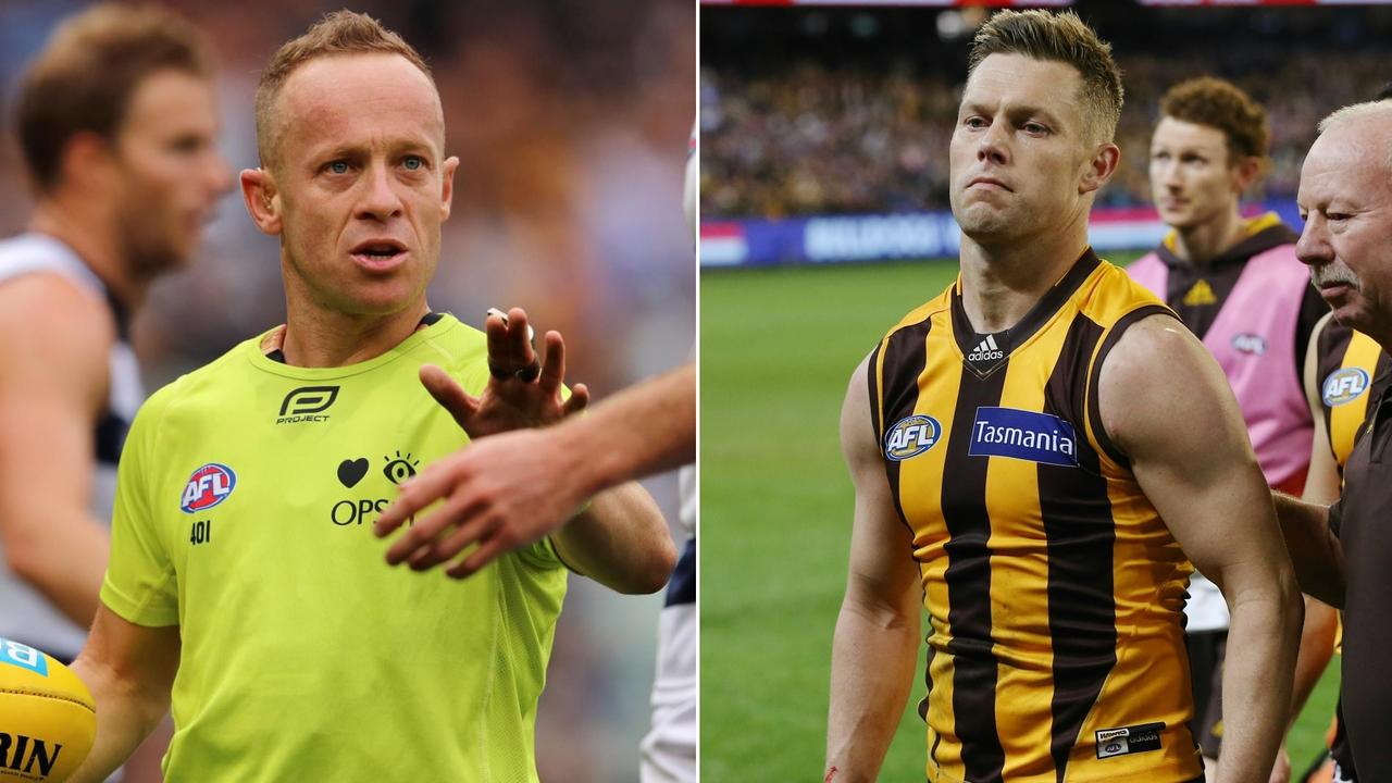 'Razor' Ray Chamberlain reveals his meeting with Sam Mitchell.