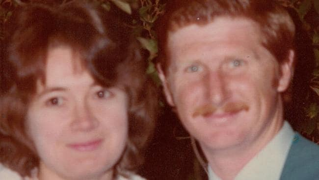 Roxlyn Bowie with her husband John. Picture: Supplied
