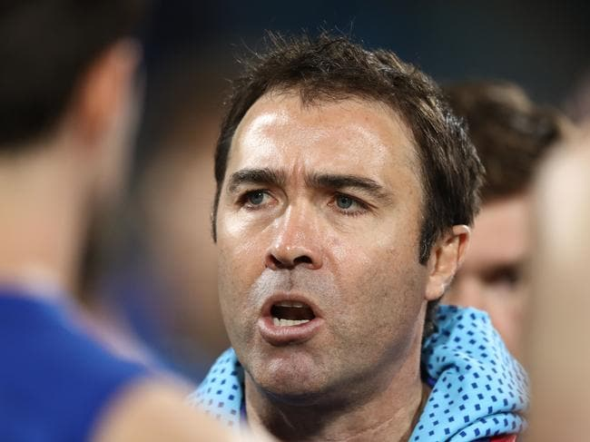 Brad Scott just wants the club to do well.